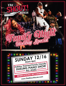 FAMILY NIGHT HOLIDAY SPECIAL