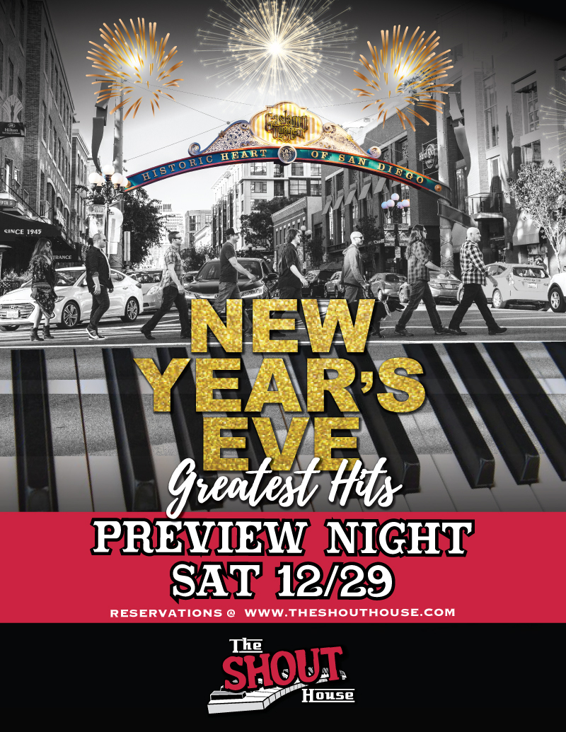 Sh New Years Eve 2019 Preview Night The Shout House Of