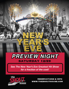NYE PREVIEW NIGHT